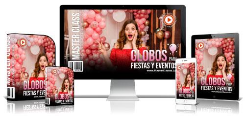 Curso decoración con globos para eventos