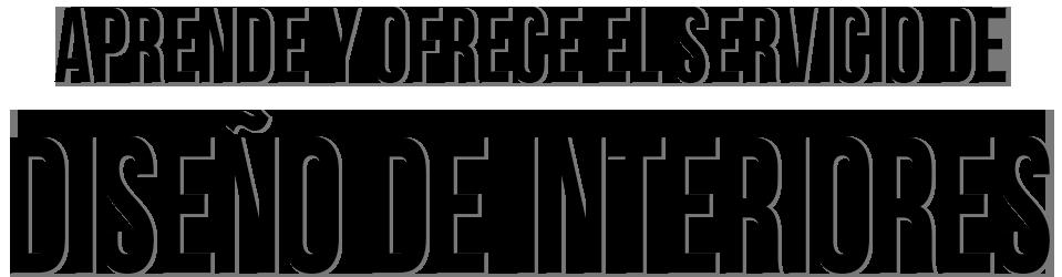 Titulo Curso Diseño de Interiores Online